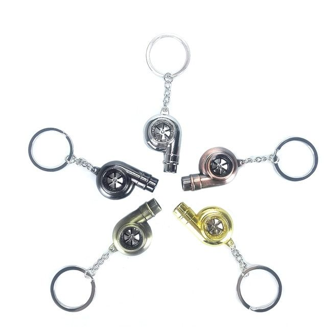 Real Whistle Sound Turbo Keychain Sleeve Bearing Spinning