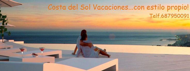 """Alquiler vacacional en la Costa del Sol. Tenemos apartamentos en toda la costa, casas y apartamentos rurales. Disfruta de unas inolvidables """"vacaciones"""""""