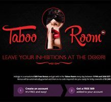 Taboo Bingo Room $69 Free Bonus