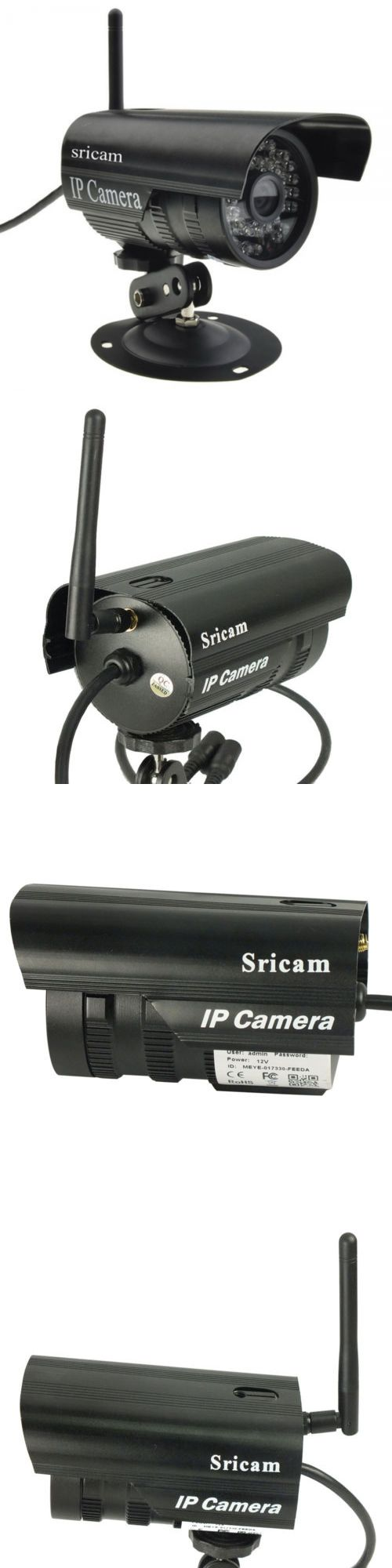 Security Cameras: Sricam 720P Hd Wireless Outdoor Ip66 Waterproof P2p Ip Camera Ir Cut For Phone BUY IT NOW ONLY: $34.03