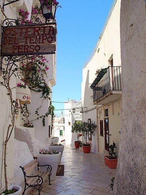 La città bianca, Ostuni, Puglia, Italy