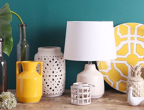 Save on Vibrant Ceramic Decor on THEHOME.COM.AU