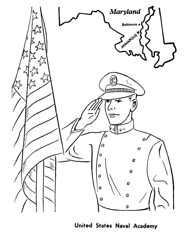 Memorial Day Sunday School Lesson Coloring Pages