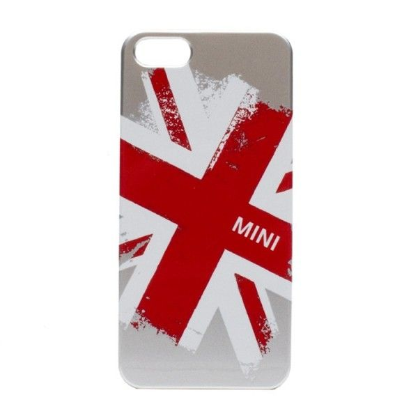 Mini Back Case Union Jack Metallic voor Apple iPhone 5S / 5