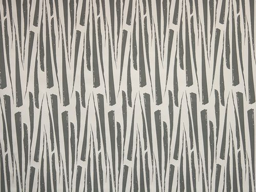 Florentine Leaves, our more geometric print in the Garden Scent Range, featured here in Graphite on Off White