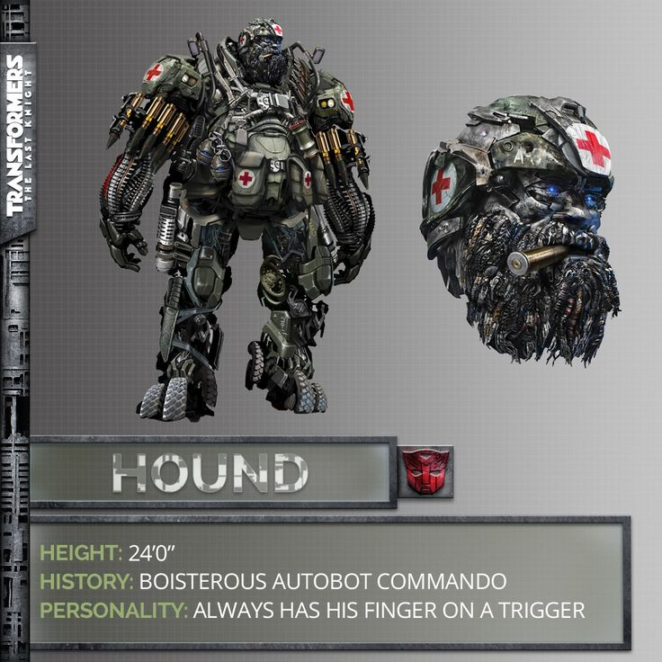 Hound in Transformers: The Last Knight