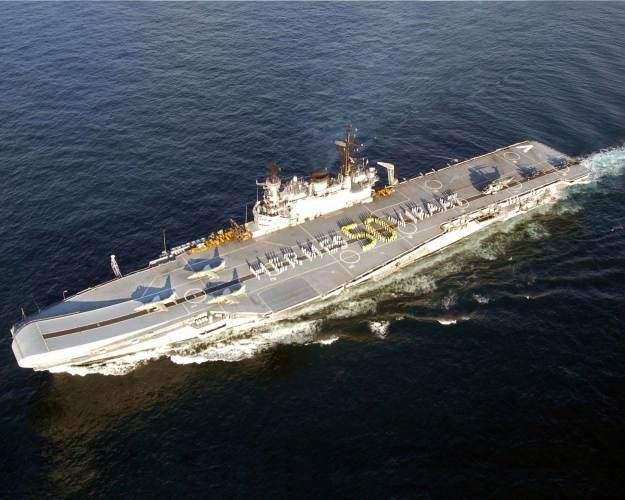 INS Viraat on its 50th anniversary in 2009. Indian Navy Photo  The oldest active aircraft carrier in the world will be converted into a docked museum when the ship, now in the Indian Navy, decommissions next year.  INS Viraat (R-22) was commissioned in 1959 into the Royal Navy as HMS Hermes (R-12), the last of the Centaur-class conventional aircraft carriers. It was transferred to India in 1987 after undergoing refits and equipment upgrades, according to The Tribune in India.
