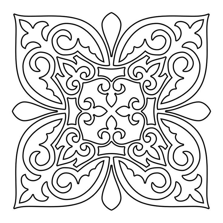 340 best Color Pages ~ Mandalas images on Pinterest | Mandalas ...