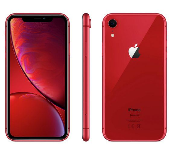 Buy Sim Free Iphone Xr 64gb Product Red Mobile Phone Sim Free Phones Iphone Apple Iphone Free Iphone