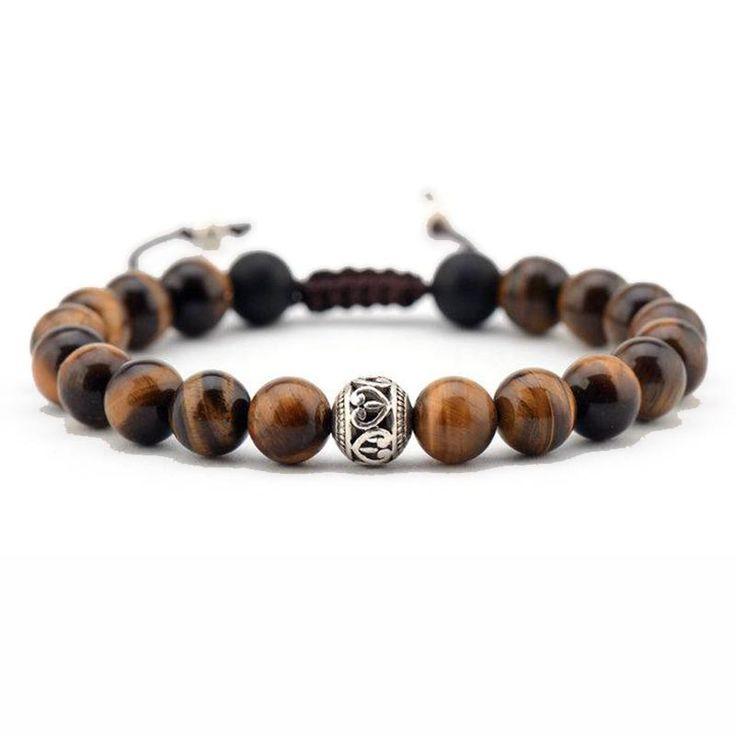 Tiger Eye Shamballa Bracelet