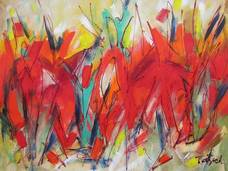 "For Sale: Modern Art Thirty-Four by Lynne Taetzsch | $250 | 24""w x 18""h | Original Art | http://www.vangoart.co/buy/art/modern-art-thirty-four @Vango"