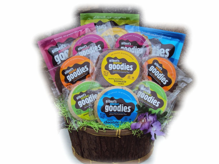 30 best gift baskets for men images on pinterest gift basket gluten free cookie assortment allergy friendly cookie gift basket for easter negle Images