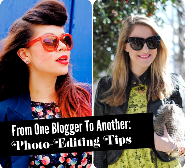 Easy Photo-Editing Tips for all Bloggers (no Photoshop required)