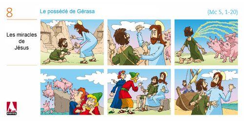 Une série de BD : le possédé de Gérasa KT42
