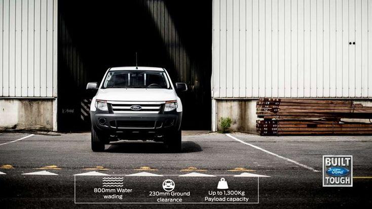Ford Ranger XL | Humanitarian vehicles | KJAER & KJAER