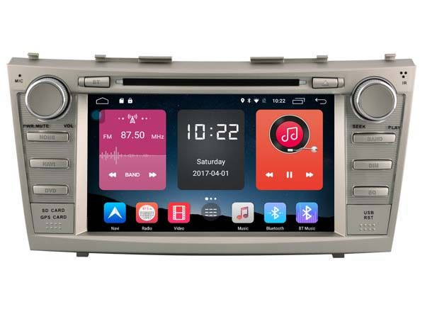 4G lite 2GB ram Android 6.0 quad core car dvd player stereo autoradio gps tape recorder for toyota camry 2010 2011  head units