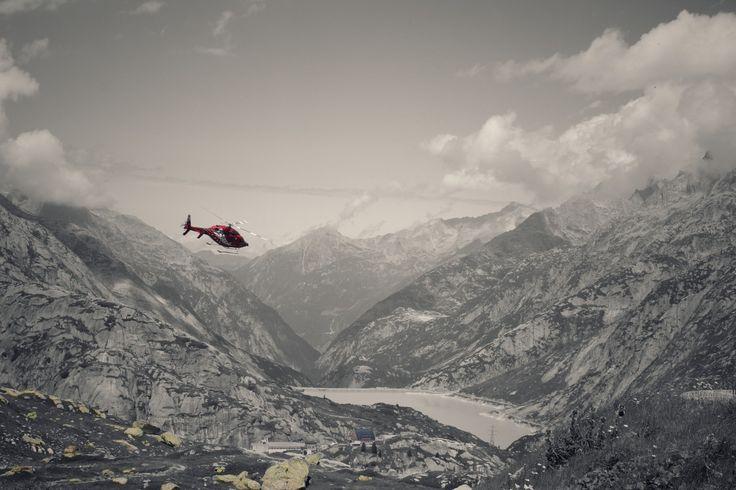 Location: Grimsel Passhöhe (2165m) - Switzerland Air Zermatt Helicopter