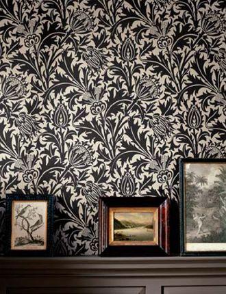 William Morris Thistle Wallpaper at Finest Wallpaper
