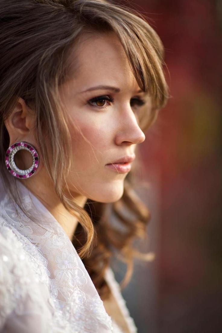 Beautiful With Stretched Ears Ears Piercingwomens Earringsfashion  Earringsear