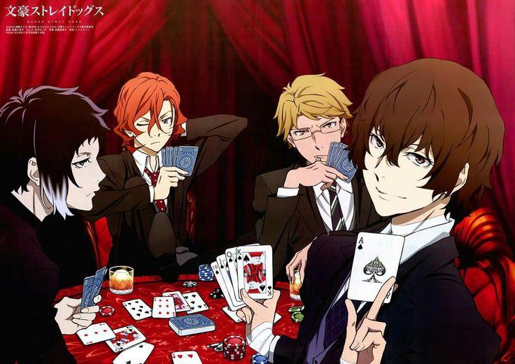 Ryunosuke, Chuuya, Doppo & Dazai