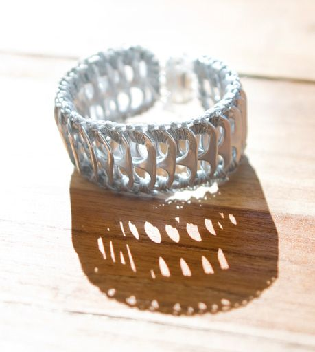 Pop Top Cuff...inspiration but can be bought through Escama Studio.