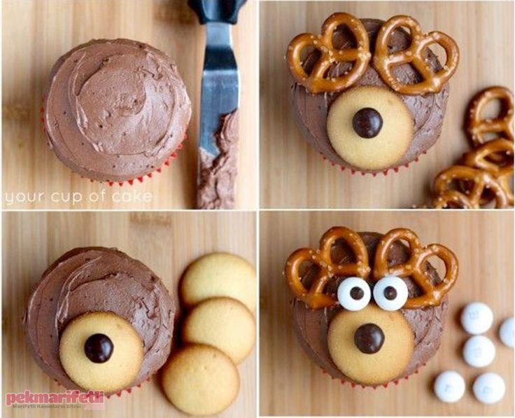 Çocuklar için sevimli cupcake yapımı | Mutfak | Pek Marifetli!