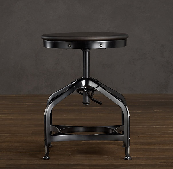 under long table: Restoration Hardware, Industrial Tools, Distressed Black, Vintage Toledo, Chest Desks, Dining Stools, Toledo Dining, Products, Counter Stools