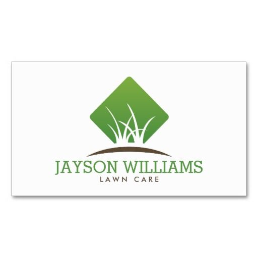 Lawn Service And Landscape: 19 Best Images About Business Cards For Landscaping, Lawn