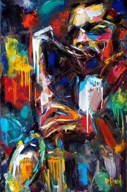 John Coltrane by Debra Hurd