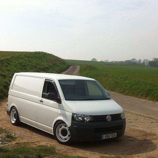 Perfect simple white VW T5