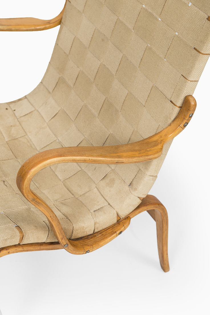 Bruno Mathsson easy chair Eva by Karl Mathsson at Studio Schalling