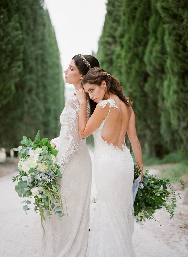 Lace and Greenery Vintage Bridal Inspiration | Magnolia & Magpie Photography