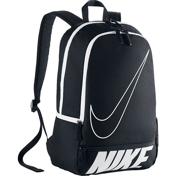 Nike Classic North Backpack ($35) ❤ liked on Polyvore featuring bags, backpacks, black, school & day hiking backpacks, pocket bag, nike, pocket backpack, polyester backpack and padded bag