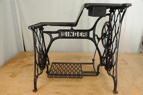 74 best singer sewing machine bases images on pinterest home ideas salvaged furniture and old. Black Bedroom Furniture Sets. Home Design Ideas