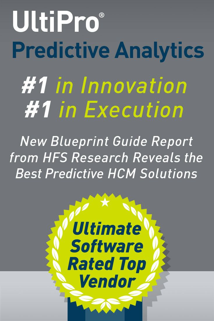 38 best ultimate software awards images on pinterest awards ultimate software hfs blueprint guide predictive capabilities in hcm systems ultimate software malvernweather Image collections