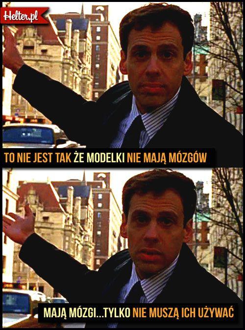 #modelka #mózg #modelki #cytaty #sekswwielkimmiescie #sexandthecity #satc #carriebradshaw #moda #filmowe #popolsku #helter #filmy #kino