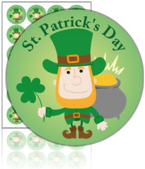 Naklejki dzień Świętego Patryka ( St. Patrick's Day)