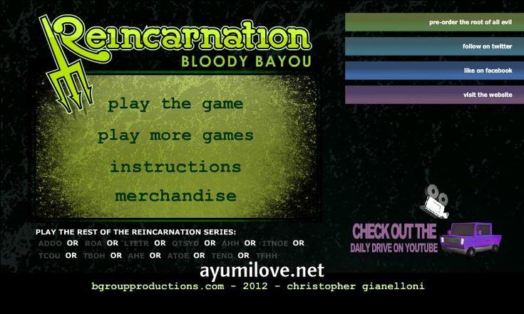 Reincarnation Bloody Bayou Walkthrough Guide http://ayumilove.net/reincarnation-bloody-bayou-walkthrough-guide
