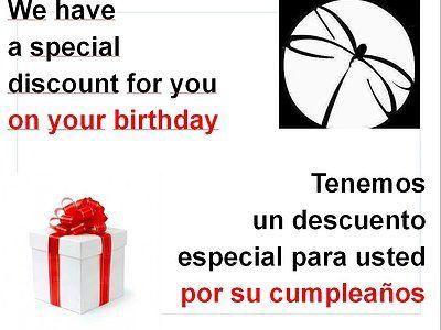 Celebre con nosotros su cumpleaños