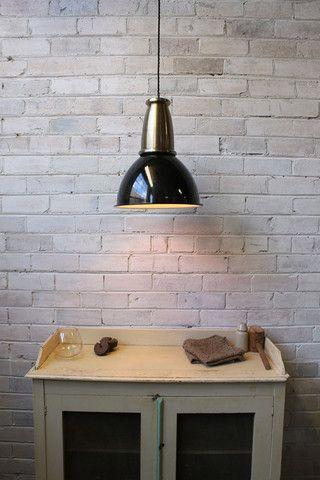 D.Brickworks Pendant Light. Copper or antique brass housing cover. B22 fitting - Fat Shack Vintage - Fat Shack Vintage