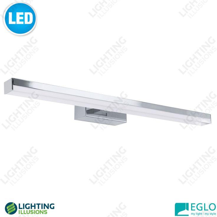 LED bathroom light. Lighting illusions