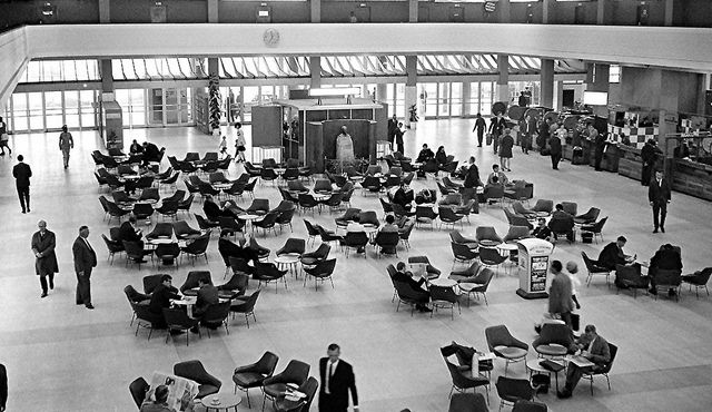 Departure Hall, Jan Smuts Airport 1969