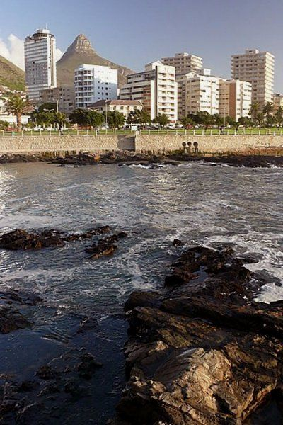 Sea Point In Cape Town, South Africa
