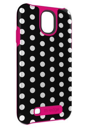 Polkadots go never out of fashion.  EreadersRus  - Echo shell for Samsung Galaxy S4, AUD24.95 (http://www.ereadersrus.com.au/echo-shell-for-samsung-galaxy-s4/)