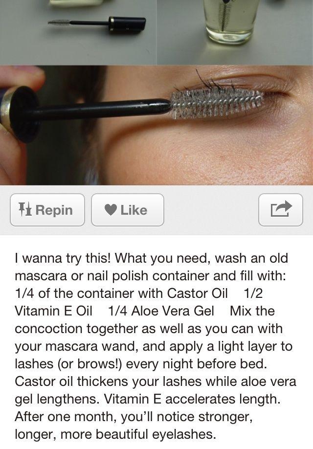 25+ best ideas about Make eyelashes longer on Pinterest | How to ...