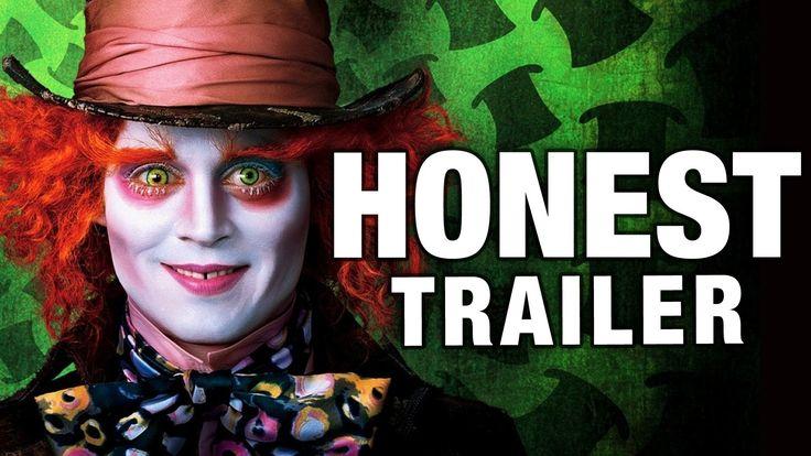 "Honest Trailer for ""Tim Burton's Alice In Wonderland"" courtesy of Screen Junkies"