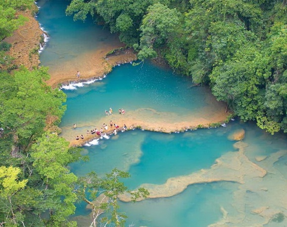 Semuc Champey Pools, Guatemala   I have been here, SO BEAUTIFUL!