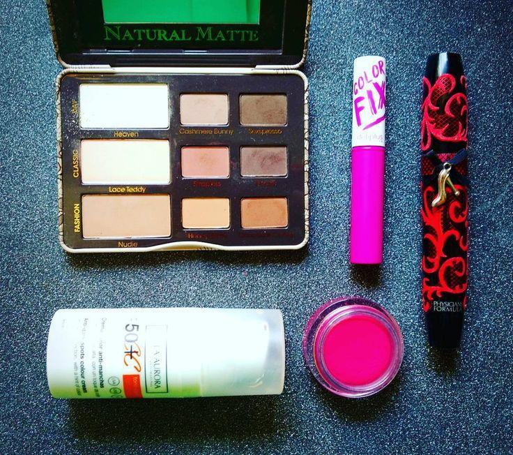 Maquillaje de hoy: un ligero toque chocolate con la paleta Natural Matte de Too Faced, crema con color de @bellaaurora_cosmetics,  máscara de @physiciansformula , colorete en crema de Dior y labial Color Fix de Deliplus, que me está encantando! #makeup #instamakeup #cosmetic #cosmetics #naturalmattepalette #colorfix #eyeshadow #lipstick #mascara #palettes #eyeliner #lip #lips #foundation #eyes #eyebrows #lashes #lash #crease #primers #base #beauty #beautiful…