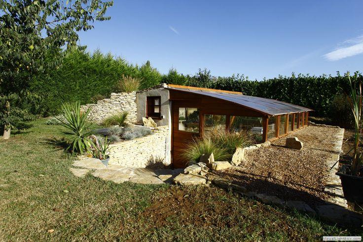 Les 38 meilleures images propos de jardin sur pinterest planters d termi - Construire jardin d hiver ...