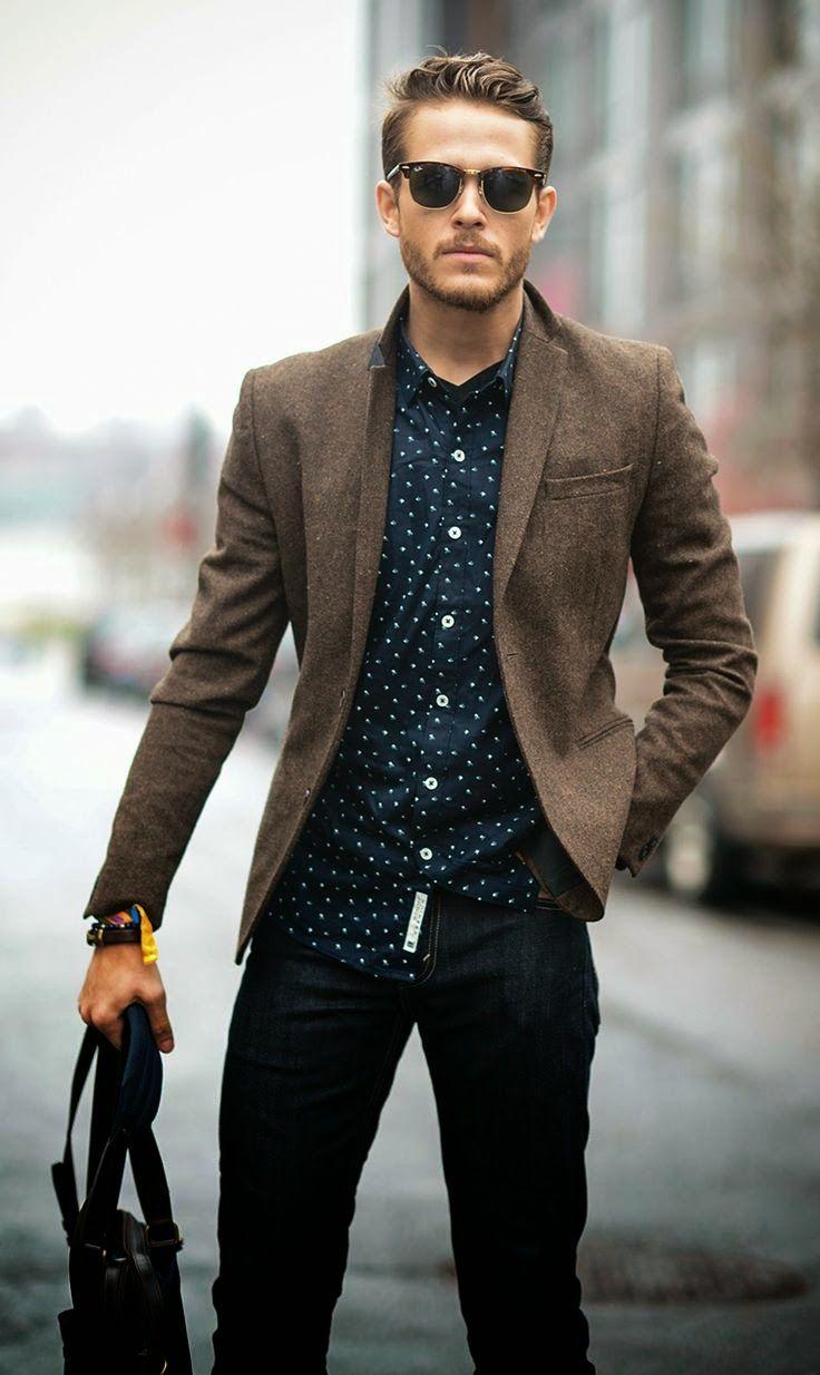 Jeito Simples de Ser: Look Casual - Homem bem vestido